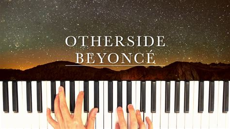 Otherside   Beyoncé Piano Cover  Lion King  Chords   Chordify
