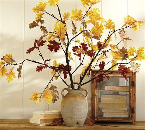 Otoño con hojas secas ideas para decorar la casa
