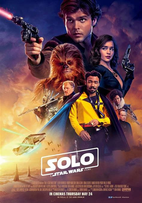 Otro cartel más de Han Solo: Una Historia de Star Wars ...