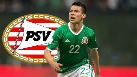 ¡Otro mexicano en Europa! Hirving Lozano se va al PSV ...