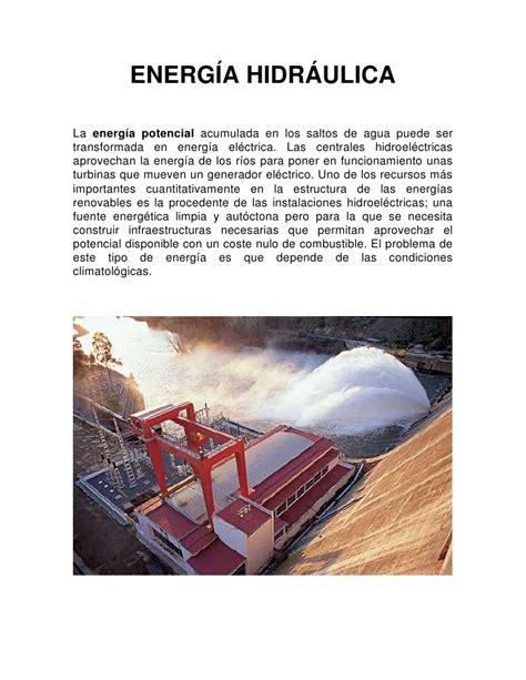 Otros Tipos de Energia Renovable