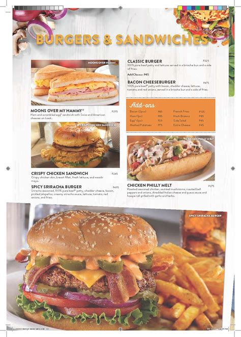 Our Denny's Menu Favorites in the Philippines • Our ...