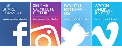 Our Social Media | Norfolk Constabulary