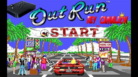 OUT RUN   Juego Retro Clasico, Arcade SEGA   8#   YouTube