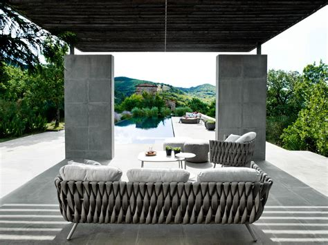 Outdoor Furniture with Creative Braided Upholstery ...