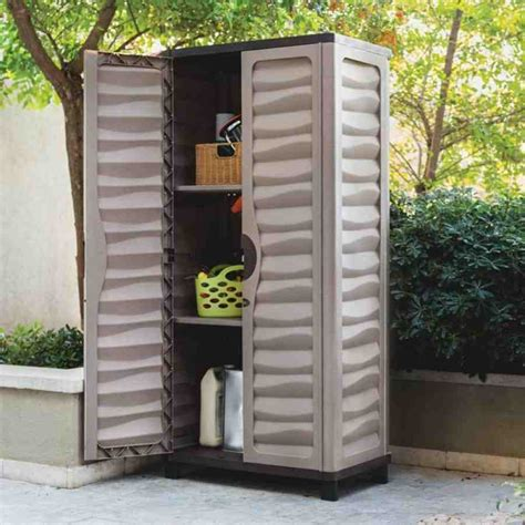 Outdoor Plastic Storage Cabinets   Home Furniture Design