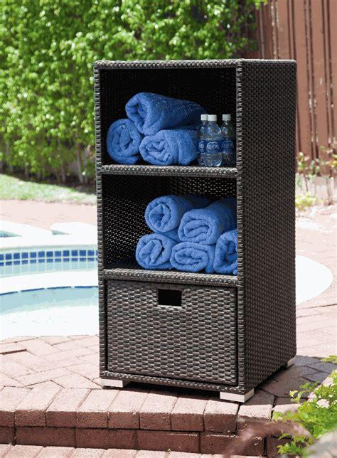 Outdoor Towel Storage / Zen Resort Furniture   Special ...