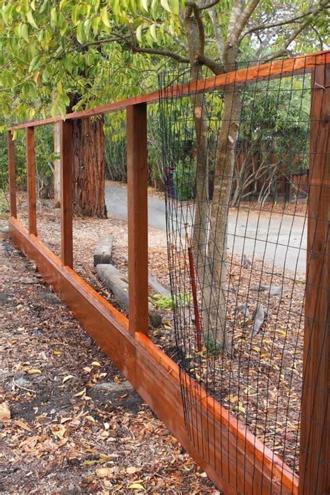Outdoor Udate: Deer Fence   Fence landscaping, Deer fence ...