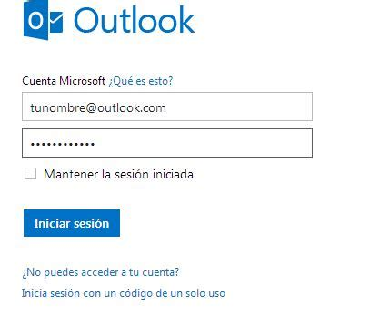 outlook 365 iniciar sesion outlook