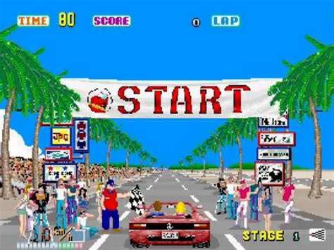 OutRun   Complete Playthrough & Ending Sega Arcade Version ...