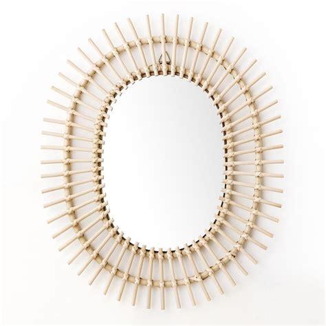 Ova espejo de ratán | Espejos, Espejos decorativos, Kenay home