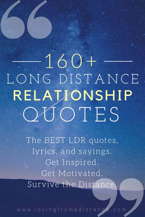 Over 160 Long Distance Relationship Quotes | Loving From A ...