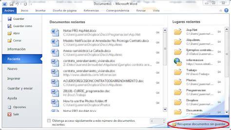 Overflow Exception: Recuperar archivos no guardados de ...