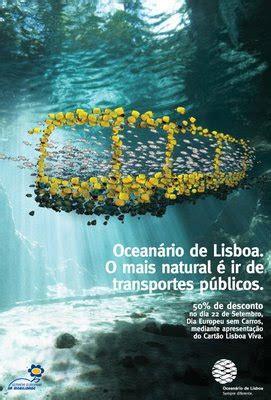 overprint design: Oceanário de Lisboa
