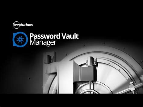 Overview   Password Vault Manager   YouTube