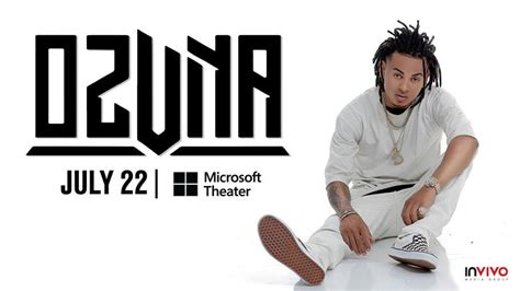 Ozuna at Microsoft Theater, Los Angeles