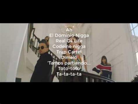 OZUNA X Ele A El Dominio   Balenciaga Letra / LYRIC   YouTube