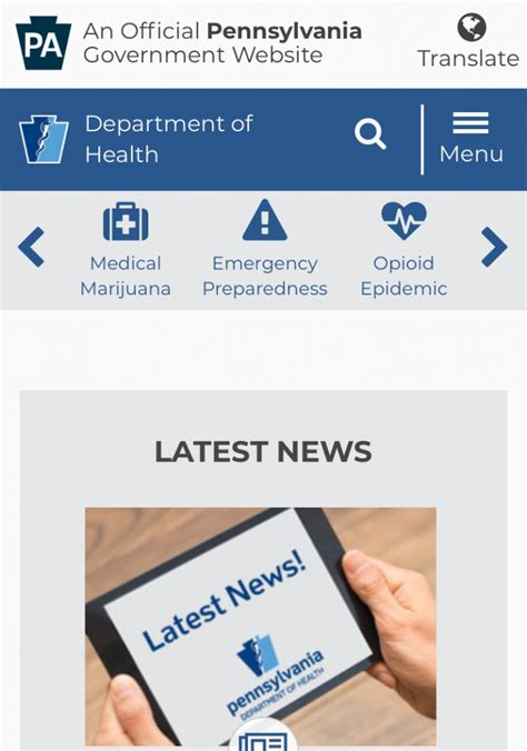PA.gov That Works: State Websites Get a New Look
