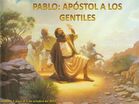 Pablo Apostol a los Gentiles