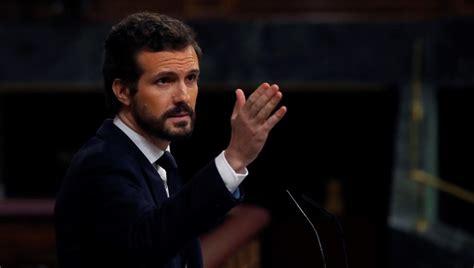 Pablo Casado, centro de las críticas  y de los memes  por ...