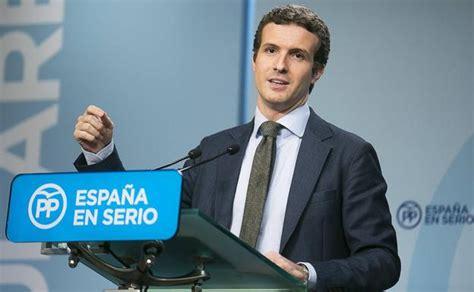 Pablo Casado: currículum, renta, bienes patrimoniales y ...