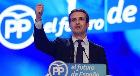Pablo Casado, nuevo presidente del Partido Popular español ...