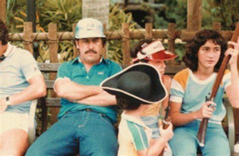 Pablo Escobar and family at Disney World,  1981 .