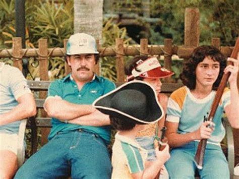 Pablo Escobar at Disney World with his family ...