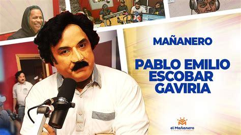 Pablo Escobar Gaviria en el Mañanero!!!   YouTube