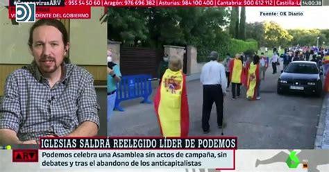 Pablo Iglesias asegura de forma velada que habrá escraches ...
