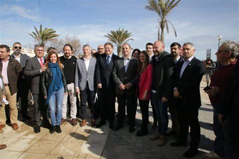 Pablo Iglesias destaca que la playa de Oliva ha resistido ...