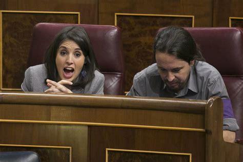 Pablo Iglesias e Irene Montero, complicidad más que ...