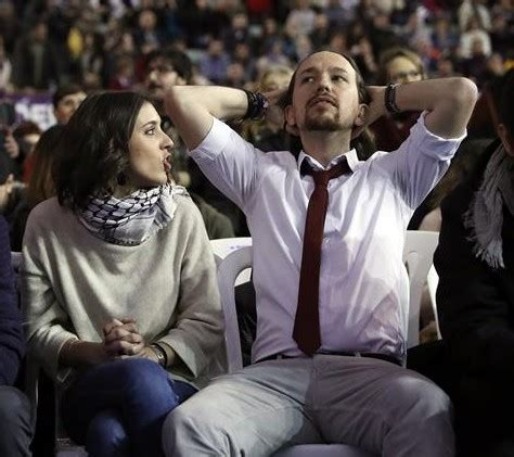 Pablo Iglesias e Irene Montero consolidan su noviazgo y su ...