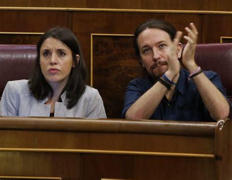 Pablo Iglesias e Irene Montero rompen su relación por un ...