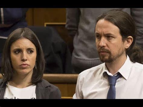 Pablo Iglesias e Irene Montero ¿Separados por una mujer ...