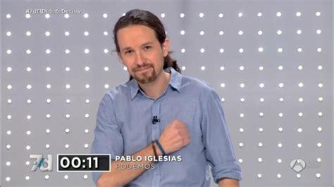 Pablo Iglesias  final debate speech   YouTube