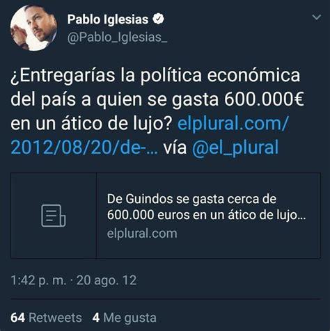 Pablo Iglesias nos explica la compra de su chalet de 600 ...