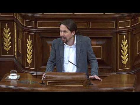 Pablo Iglesias:  Nuestro sistema político vive una crisis ...
