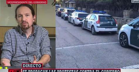 """Pablo Iglesias, sobre las caceroladas en su domicilio: """"A ..."""