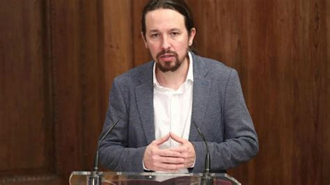 Pablo Iglesias, vicepresidente del Gobierno, amenaza a ...