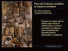 Pablo Picasso. Del Cubismo Analítico al Cubismo Sintético ...