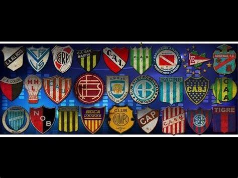 Pack de RENDERS de Escudos argentinos  Primera división y ...