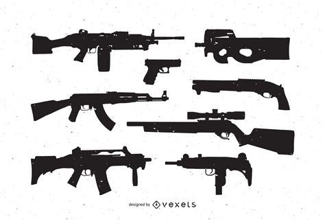 Pack de vectores gratis de armas   Descargar vector