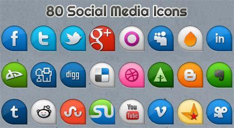 Pack gratuito con 80 iconos sociales en dos estilos ...