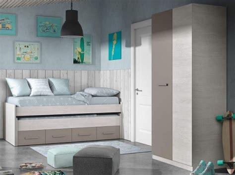 Pack Muebles Dormitorio Juvenil Color Unisex Cama Nido Y ...