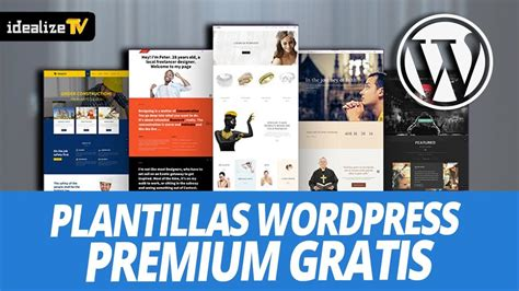 PACK PLANTILLAS WORDPRESS PREMIUM GRATIS   YouTube