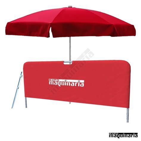 Pack sombrilla playa y biombo playa   KIT Parasol playa ...
