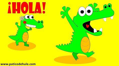 Paco, el cocodrilo que no saludaba   Buenos Días y Buenas ...