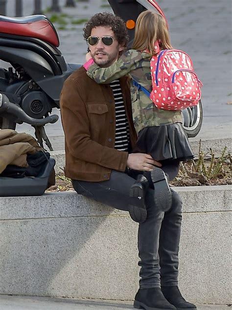 Paco León, loco con su hija Manuela