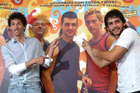 Paco León y Fran Perea, durante la presentación de la ...